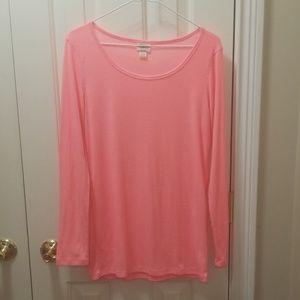 Mossimo pink shirt sz XL